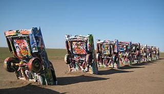 cadillac tombstones
