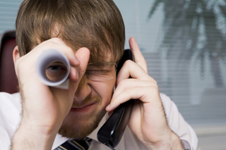Business spying on customer phone calls