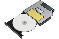 cd drive illustration