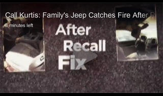 chrysler recall fire 2