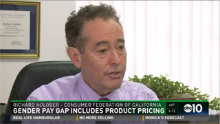 news video on bias in prices paid for goods marketed to girls and women